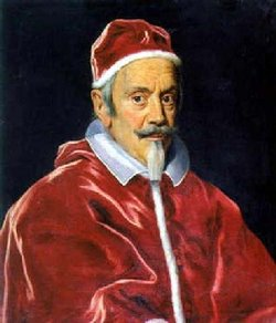 Pope Clement, X