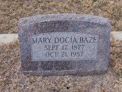 Mary Docia <I>Beck</I> Baze