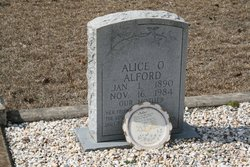 Alice O. <I>Lindsey</I> Alford