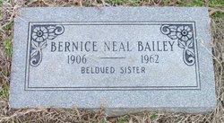 Bernice L. Bailey