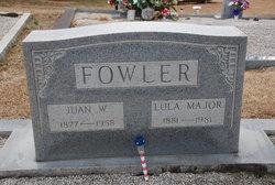 Lula Eleanor <I>Major</I> Fowler
