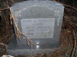 Mary Daniel <I>Peebles</I> Ashby