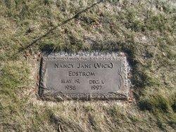 Nancy Jane <I>Vick</I> Edstrom