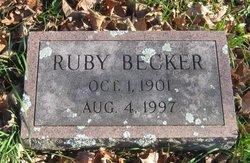 Ruby <I>Boice</I> Becker