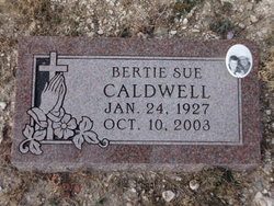 Bertie Sue Caldwell