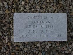 Samantha M. Kolkman