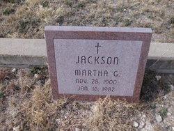 Martha G. Jackson