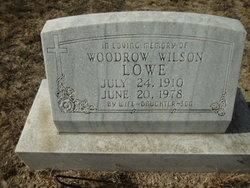 "Woodrow Wilson ""Tex"" Lowe"