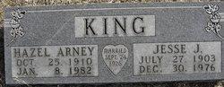 Hazel <I>Arney</I> King