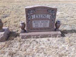 Betty Arline Exline