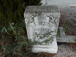 Levi E Becton