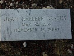 Jean <I>Kaelber</I> Brauns
