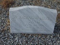 Katherine Berry Davis