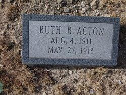 Ruth B Acton