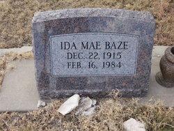 Ida Mae <I>Wilkerson</I> Baze