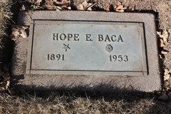 Hope E. <I>Montague</I> Baca