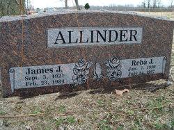 Reba J <I>Pemberton</I> Allinder