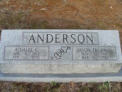 Mrs Athalee <I>Carothers</I> Anderson