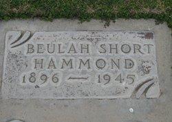Beulah <I>Short</I> Hammond