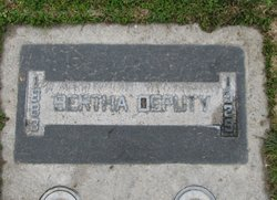 Bertha Alice <I>Madison</I> Deputy