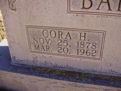 Cora Tennessee <I>Hatcher</I> Barber