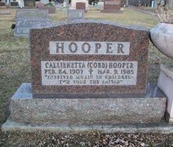 Callienetta <I>Cobb</I> Hooper