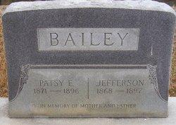 Patsy Eleanor <I>Strickland</I> Bailey