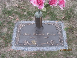 Opal Lou <I>Brewer</I> Blair