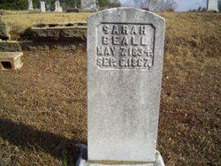 Sarah <I>Awtrey</I> Beall