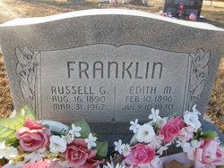 Edith Mae <I>Van Dyke</I> Franklin