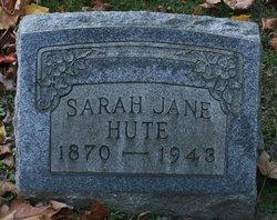 Sarah Jane <I>Davies</I> Hute