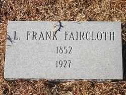 "Lewis Franklin ""Frank"" Faircloth"