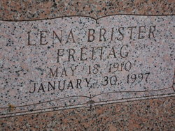 Lena Mae <I>Brister</I> Childress
