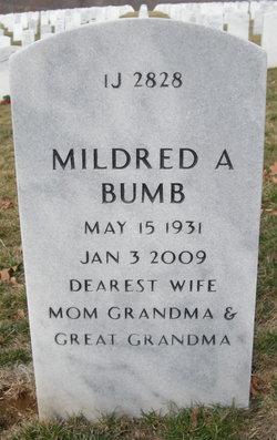 "Mildred A. ""Tootsie"" <I>Burroughs</I> Bumb"