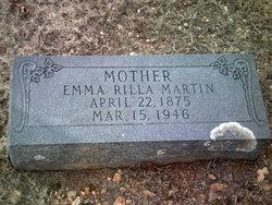 Emma Rilla <I>Mefford</I> Martin