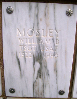 William B Mosley