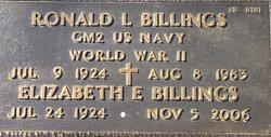 Ronald L Billings