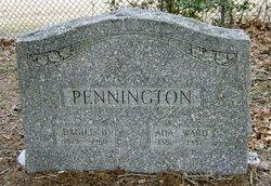 Ada <I>Ward</I> Pennington