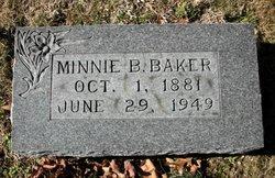 Minnie Blanche <I>Knight</I> Baker