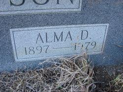 Alma <I>Dickey</I> Thompson