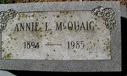Annie L McQuaig