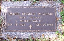 Daniel Eugene McQuaig