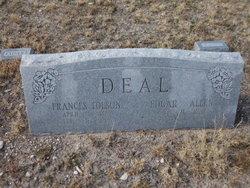 Frances Ellen Deal <I>Thiele</I> Tolson
