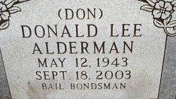 "Donald Lee ""Don"" Alderman"