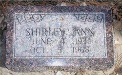 Shirley Ann <I>Rosenau</I> Foutz