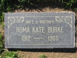 Roma Kate <I>Flanagan</I> Burke