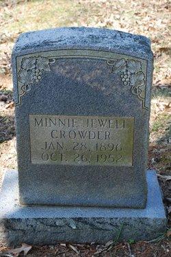 Minnie Jewell Crowder