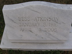 Bess Atkinson