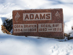Cora Alma <I>Drayer</I> Adams