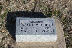 Wayne M Cook